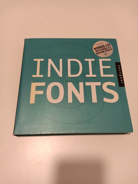 Used Indiefonts by Rockport Book 3 with CD in Dubai, UAE