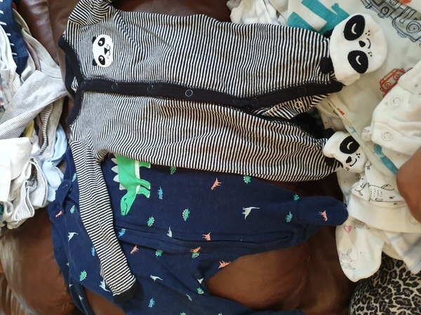 Used New born items for baby boy more than 40 in Dubai, UAE