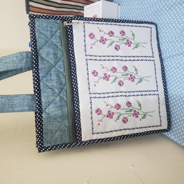 Used Lovely bag with embroidered in Dubai, UAE