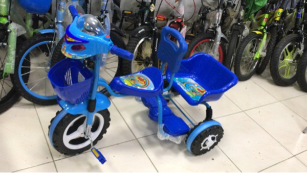 Used New Kids Tricycle (Double Seat) in Dubai, UAE