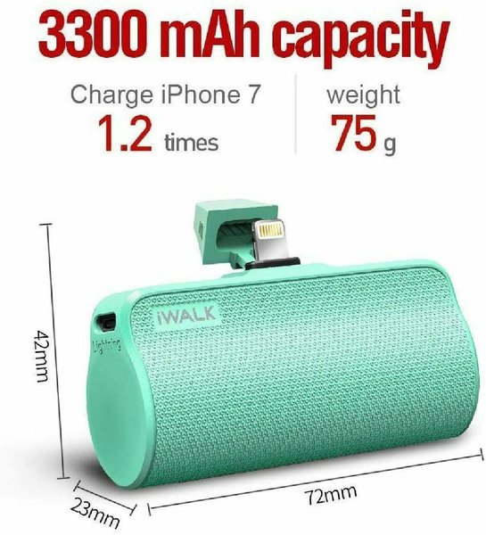 Used iwalk Portable Charger for Android. in Dubai, UAE