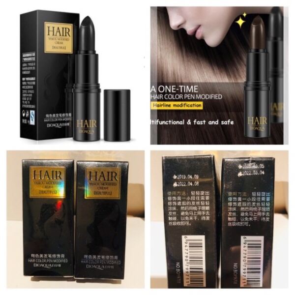 Used Hair chalk sticks black & dark brown in Dubai, UAE