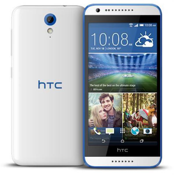 New HTC Desire 620G Dual Sim- 8GB- 3G - Wifi- Color Santorini White
