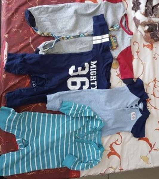 Used Baby romper and sleepers in Dubai, UAE