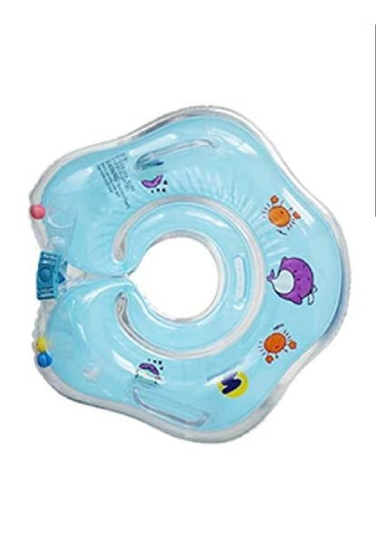 Used Baby neck float blue in Dubai, UAE