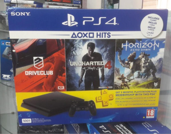Used PS4 With 3 games and 3month member ship  in Dubai, UAE