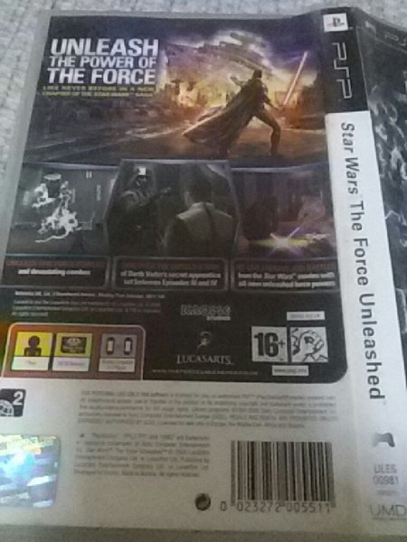 Used PSP STAR WARS FORCE UMD in Dubai, UAE
