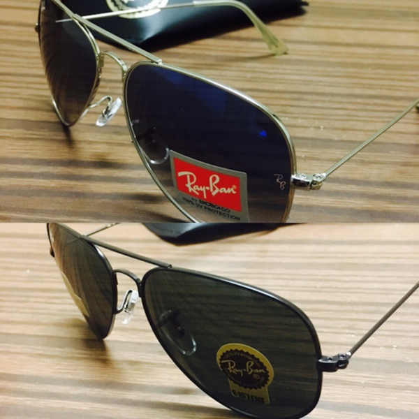 Used Ray Ban Aviator.. Two Sunglasses For Only 135 Dhs.. Free Delivery..hurry!! Limited Period Offer..!!! in Dubai, UAE