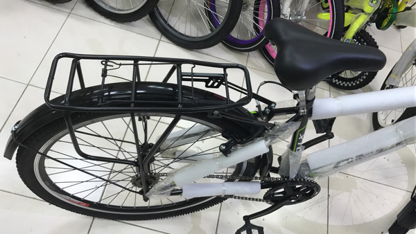 "Used New 26"" MTB bike with carrier  in Dubai, UAE"