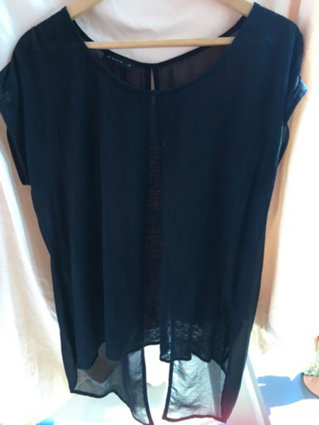 Used Nique new black top - open back in Dubai, UAE