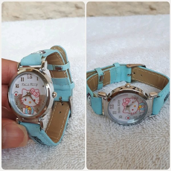 Used Hello kitty watch light blue... in Dubai, UAE