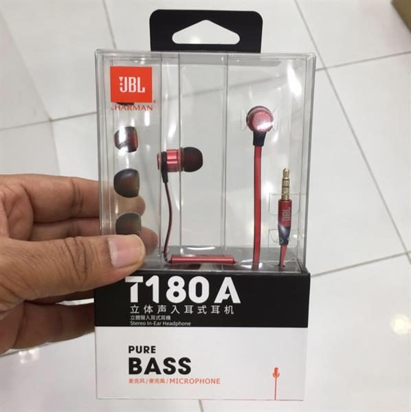Used Jbl 180 Earphone -Red in Dubai, UAE