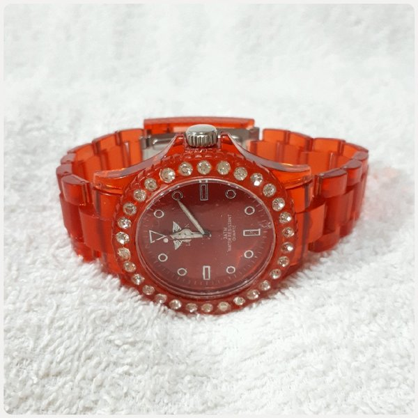 Used Fabulous red London watch for her... in Dubai, UAE