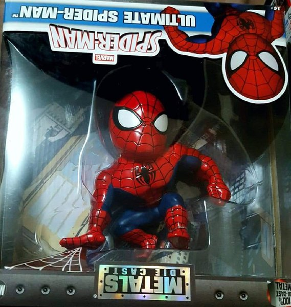 Used Spiderman Collectible Toy Sealed w/ Box in Dubai, UAE