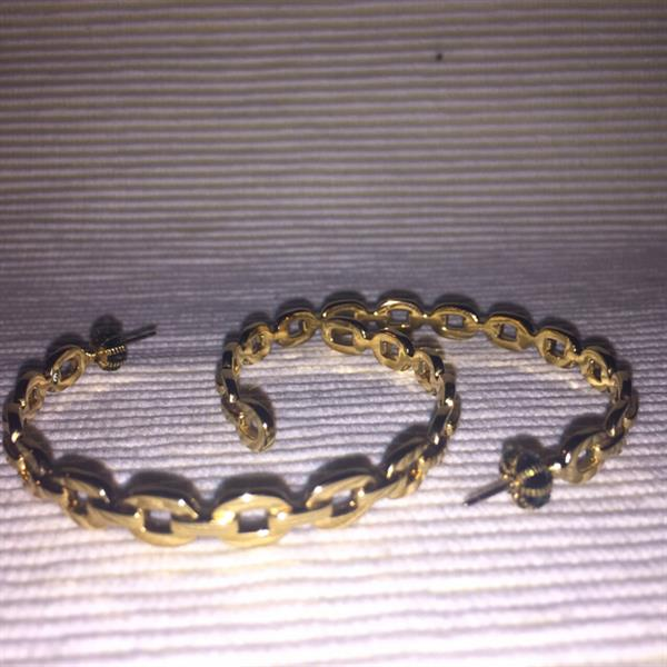 Used Authentic #Juicy Couture Large Earring. In Great Condition As New Worn Few Times Only. in Dubai, UAE