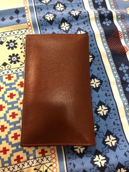 Used Pure Leather Wallet - Brown in Dubai, UAE
