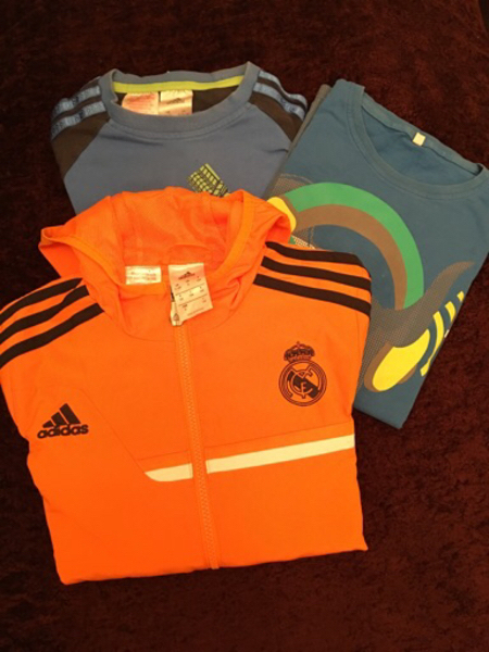 Used Adidas Jacket Size 9-10 year and pants  in Dubai, UAE