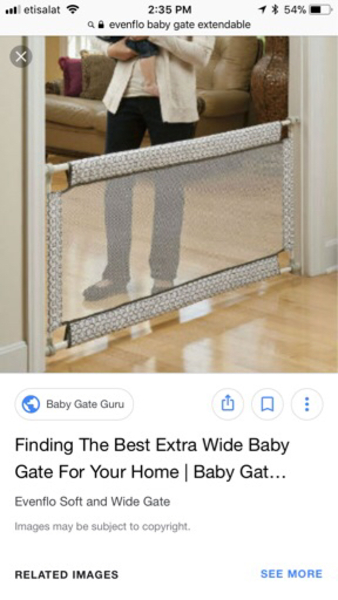 Used Baby gate  in Dubai, UAE