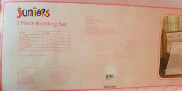 Used Baby 5 pc Bedding Set in Dubai, UAE