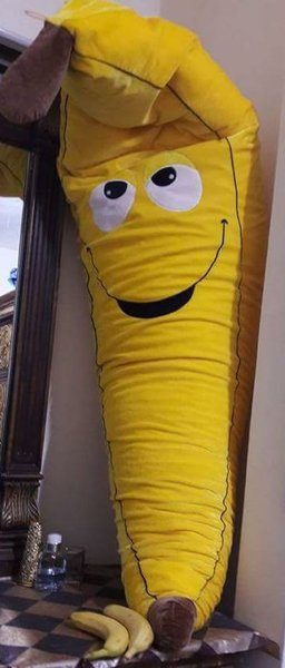 Used Banana stuff toy in Dubai, UAE