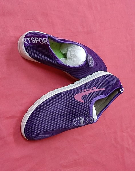 Used Sport shoes 39 size for her ! in Dubai, UAE