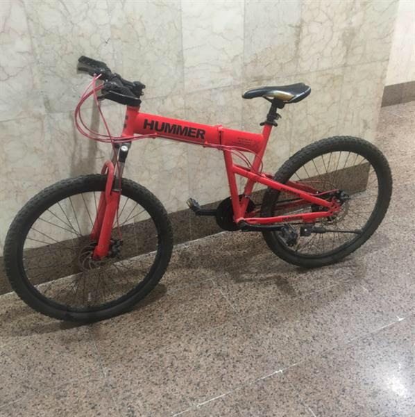 Used Hummer Cycle Foldable. Used For 1 Year. Good Condition . With Disc Break  in Dubai, UAE