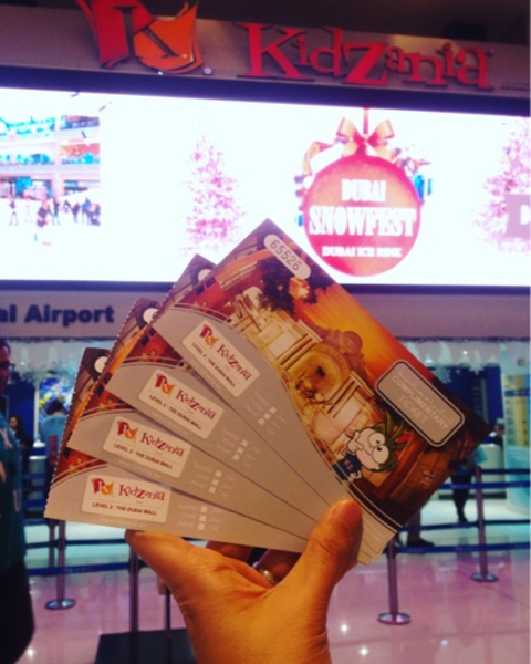 Used Kidzania Passes in Dubai, UAE