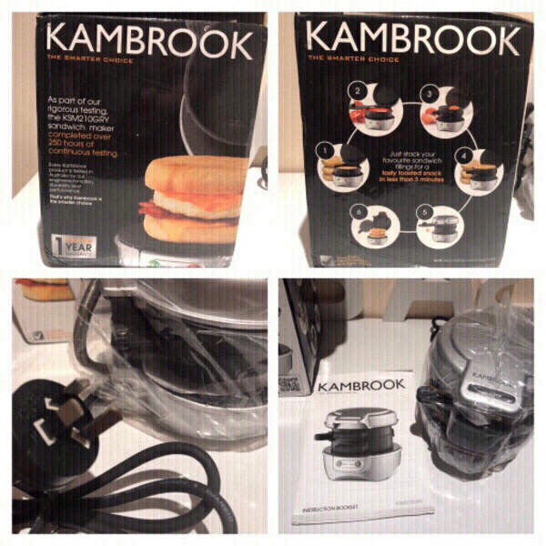 Used KAMBROOK sandwich maker new in Dubai, UAE
