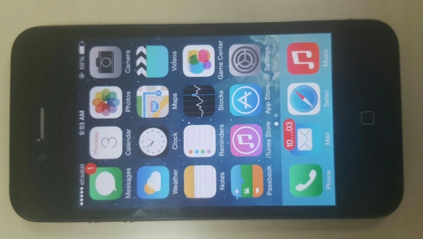 Used Iphone 4,16GB, Excellent Condition, Slightly Used,No Scratch.With USB Cable in Dubai, UAE