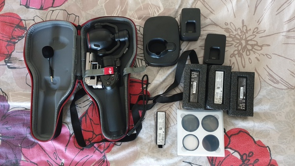 Used DJI OSMO PLUS 5 months old with GOODIES in Dubai, UAE