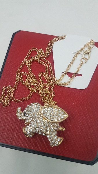 Used Jewellery Sets ( Golden elephant ) in Dubai, UAE