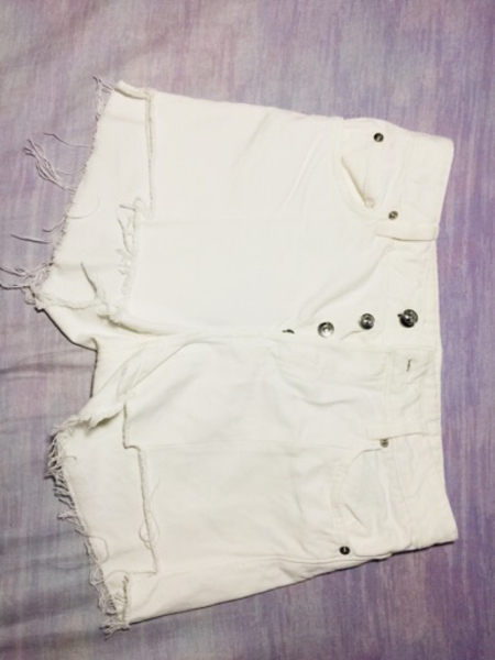 Used Longsleeve (Hollister) and white Short in Dubai, UAE