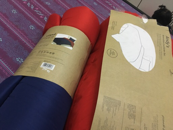 Used Home center two quilt in Dubai, UAE
