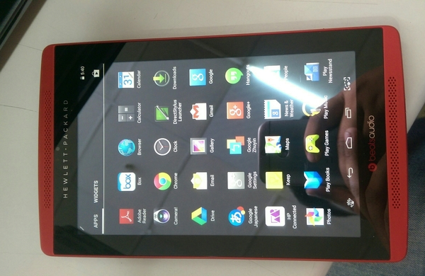 Hp Orignal Beats Audio Android Tablet Wifi