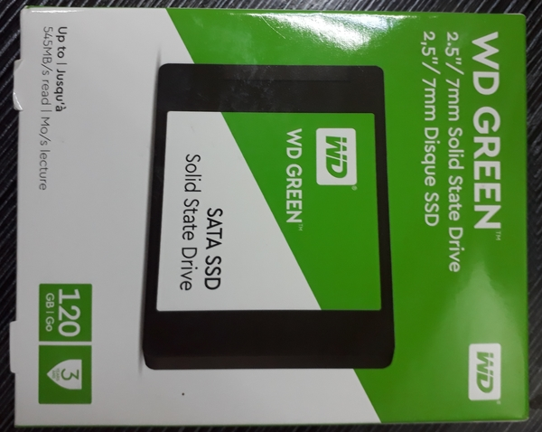 Used WD SSD GREEN 120 GB BRAND NEW in Dubai, UAE
