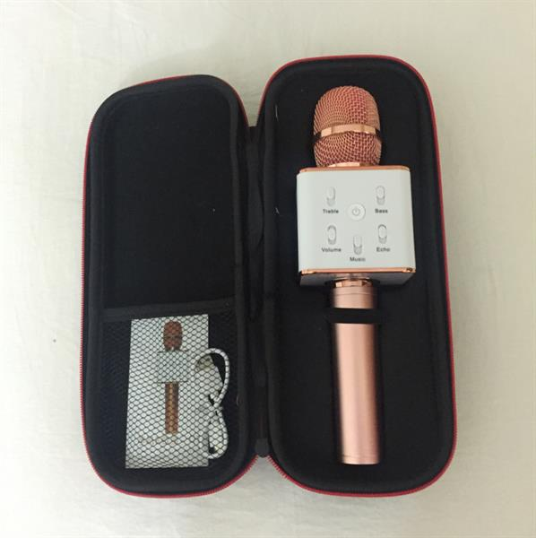 Used Hand Karoke Rose Gold Colour Very Nice Mic in Dubai, UAE