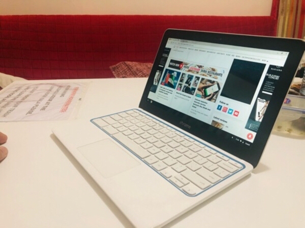 Used Hp Chromebook 11 white edition in Dubai, UAE