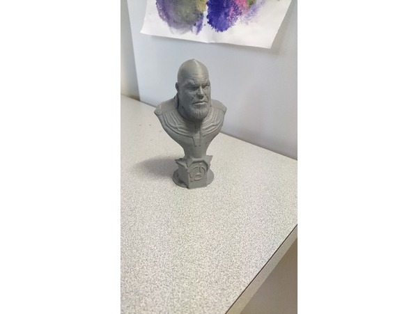 Used 3D Printed Thanos Bust in Dubai, UAE