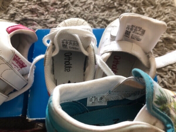 Used Adidas and vans toddler shoes in Dubai, UAE