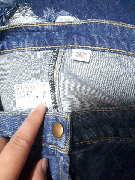 Used Denim Short and Skirt 2pcs offer in Dubai, UAE