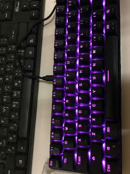 Used 60% rgb keyboard Ck61 in Dubai, UAE