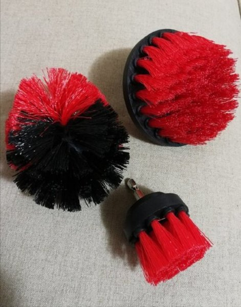 Used Tile grout scrubber 3 pcs brushes in Dubai, UAE