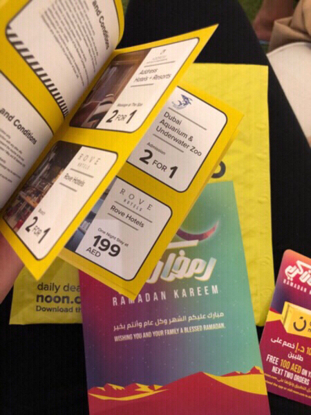 Used NOON Booklet in Dubai, UAE