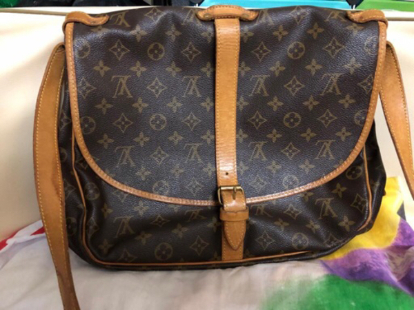 Used 100% Authentic LV (saumur 35) in Dubai, UAE