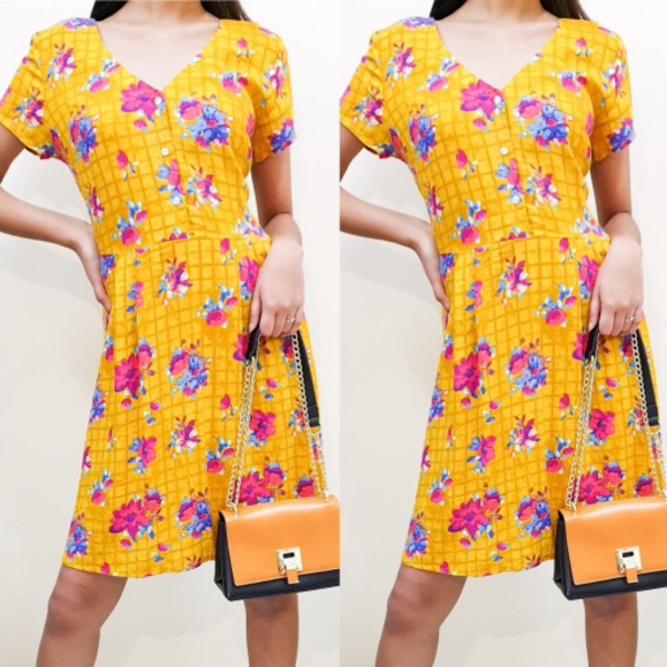 Used Summer Midi Dress in Dubai, UAE
