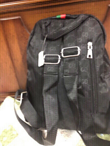 Used Gucci backpack copy never used in Dubai, UAE