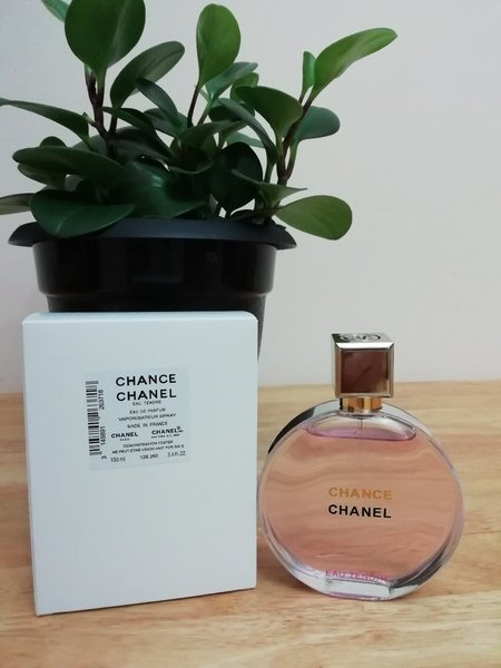 Used Chanel Chance perfume edt women in Dubai, UAE