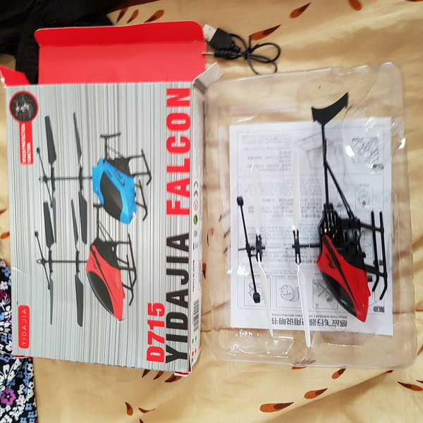 Used New induction flying helicopter toy in Dubai, UAE