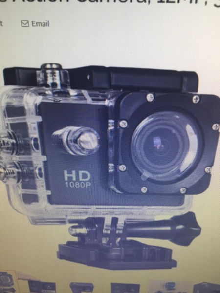 Used Sports camera waterproof  in Dubai, UAE