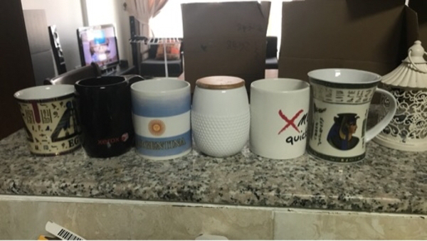 Used Used mugs in good condition in Dubai, UAE